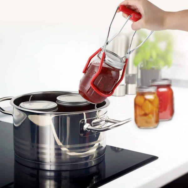 זוג מלקחיים להרמת צנצנות זכוכית MASON JARS