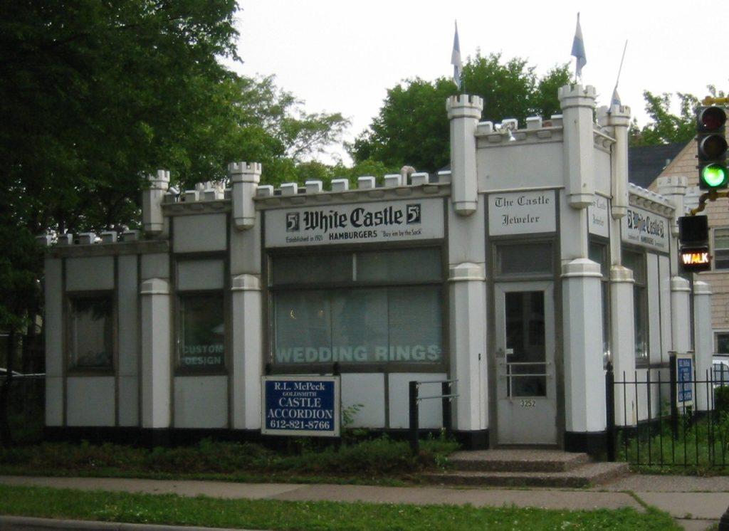 בניין ווייט קאסטל המקורי